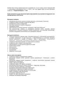 Oferta pracy - księgowy